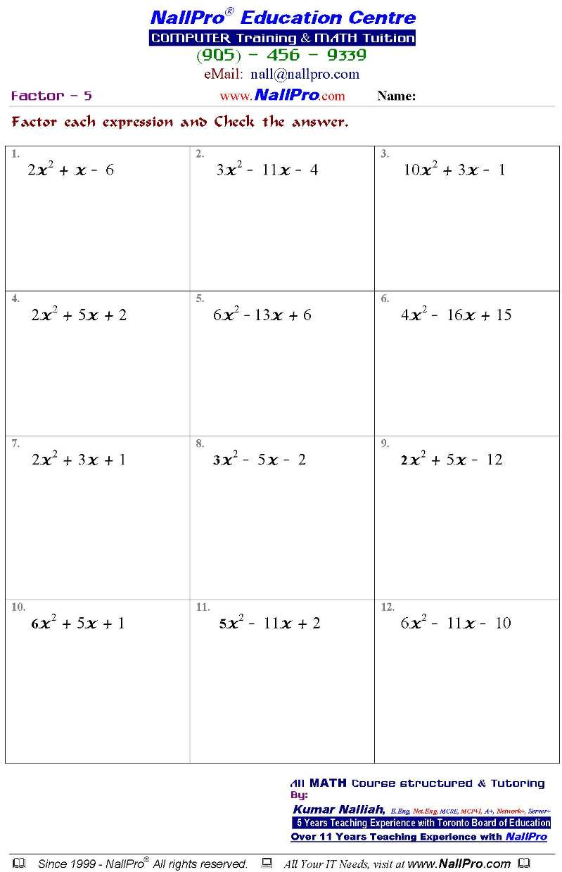 Uncategorized 10th Grade Math Worksheets tenth grade math worksheets termolak 10 1 jpg