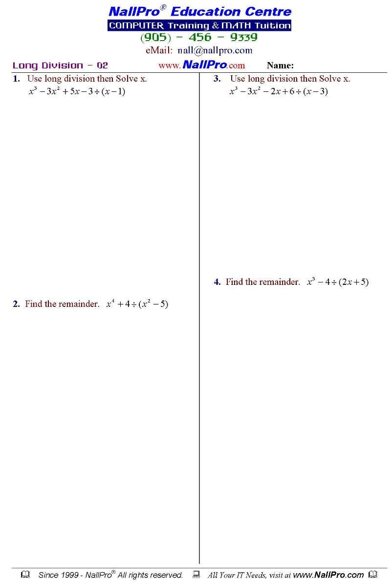 Grade 12 Mathematics